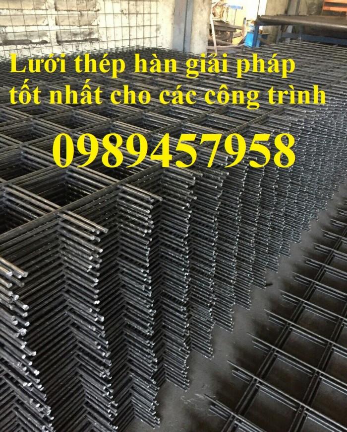 Sản xuất lưới thép tấm Phi 4, phi 5, phi 6, phi 8 lưới thép đổ sàn 200x2005