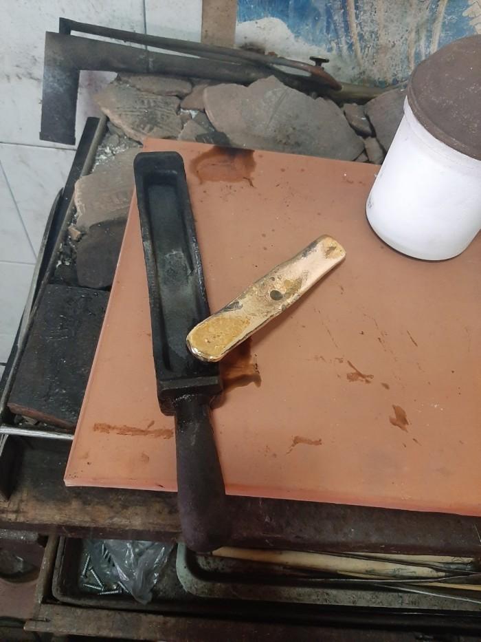 Máy nấu kim loại trung tần cao tần 20kva Phước Lộc1
