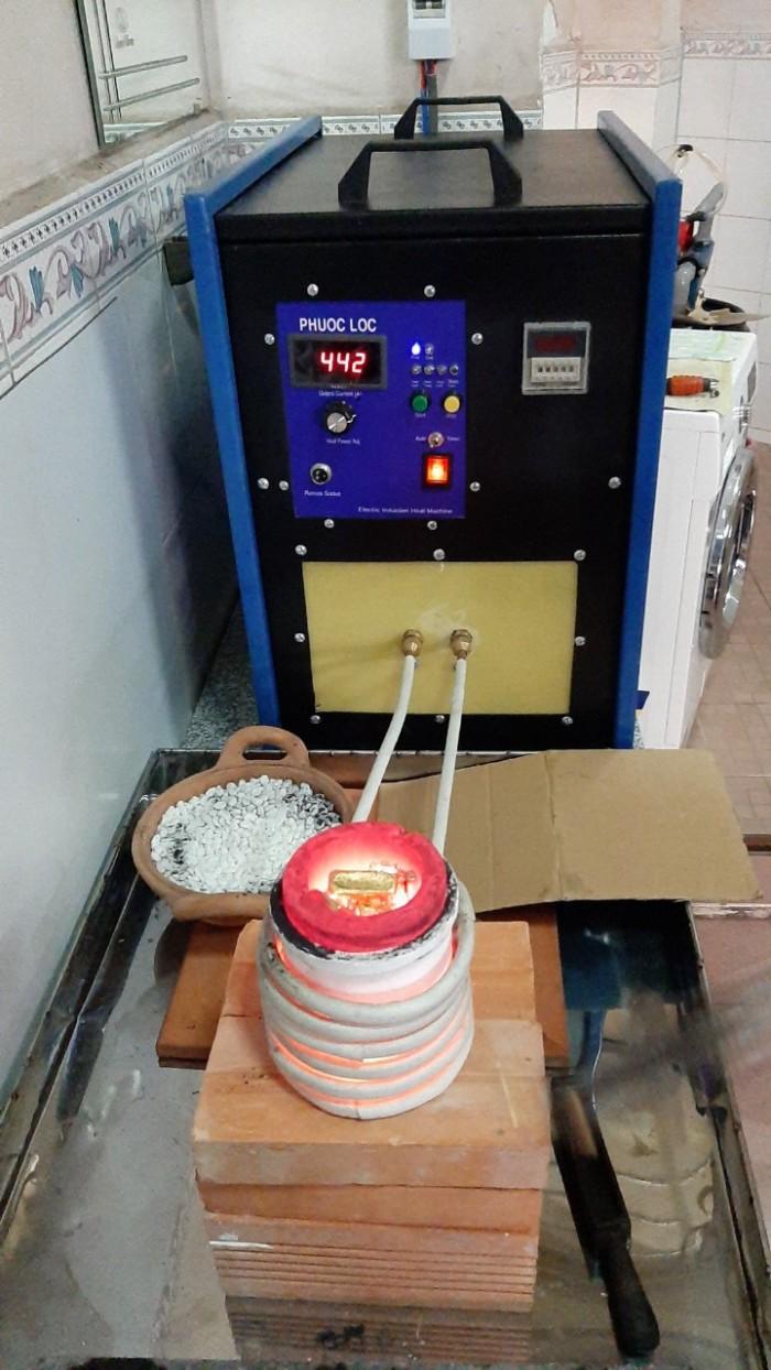 Máy nấu kim loại trung tần cao tần 20kva Phước Lộc2