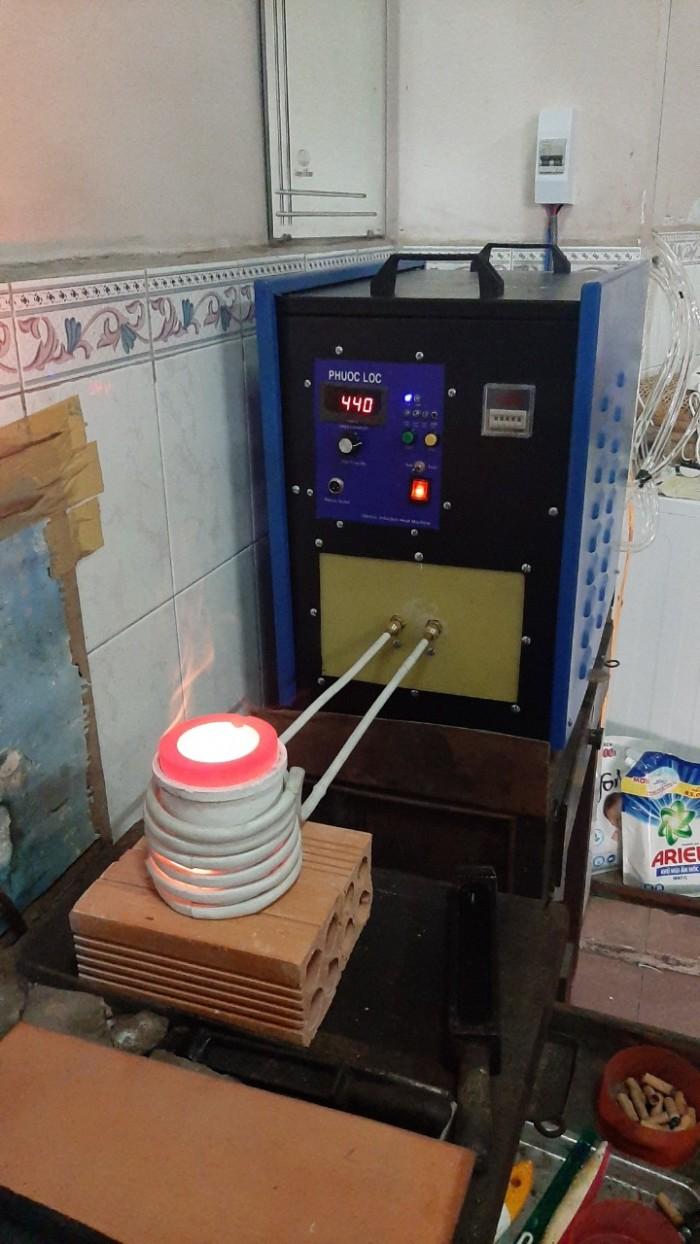 Máy nấu kim loại trung tần cao tần 20kva Phước Lộc6