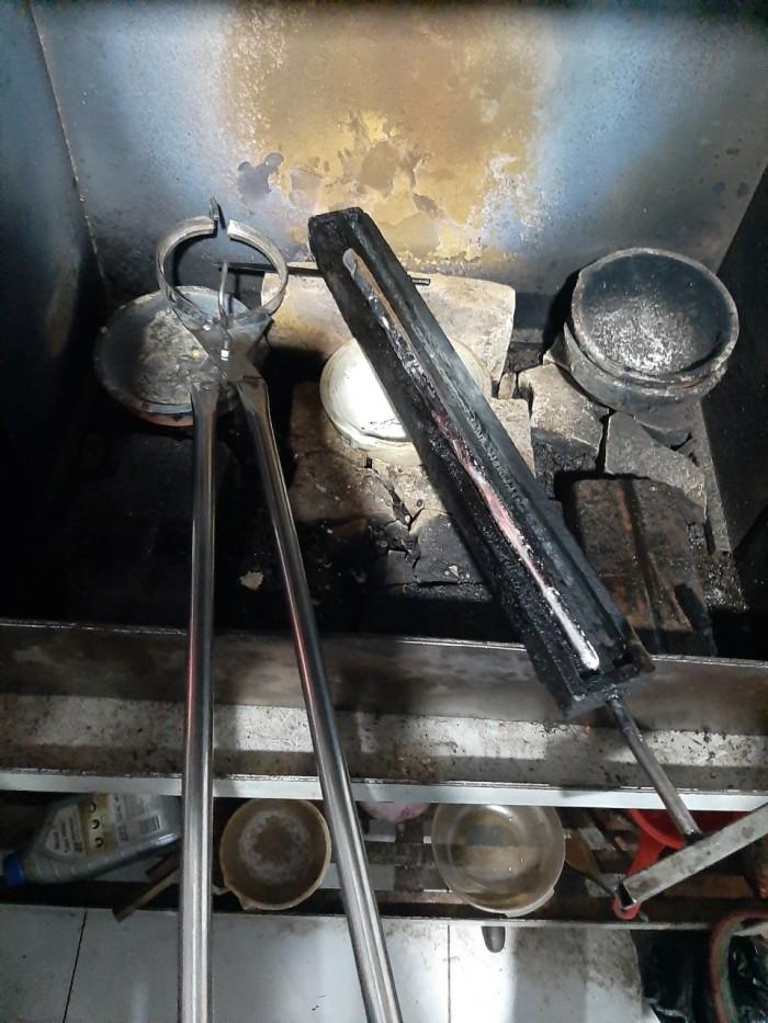 Máy nấu kim loại trung tần cao tần 20kva Phước Lộc7