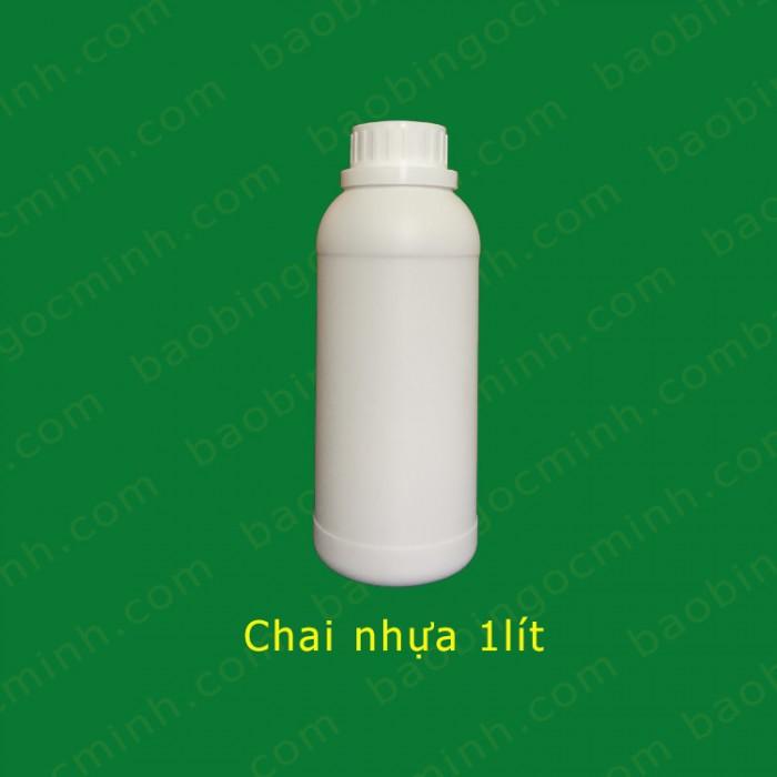 chai nhựa 1 lít đựng hóa chất 0