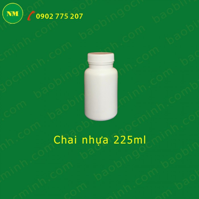 chai nhựa 225ml 5
