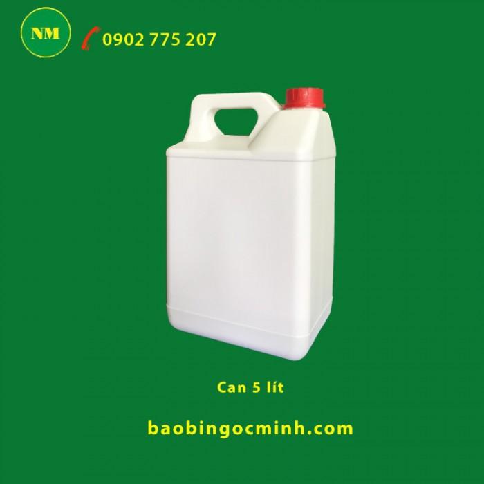 can nhựa 5 lít đựng dầu nhớt5