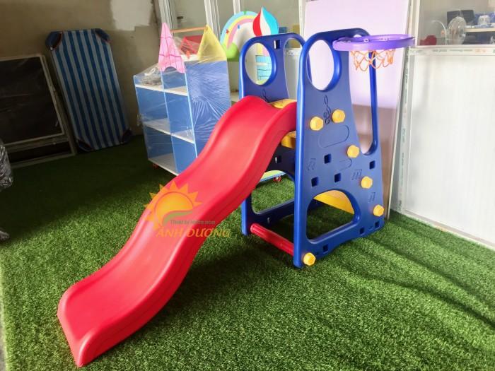 Cầu trượt trẻ em cho trường mầm non, công viên, TTTM, sân chơi, KVC