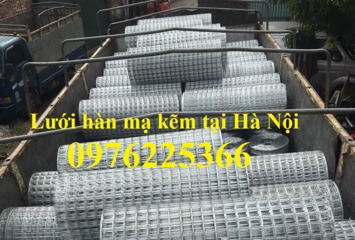 Lưới thép hàn mạ  kẽm D3a50x50 có sẵn giá rẻ4