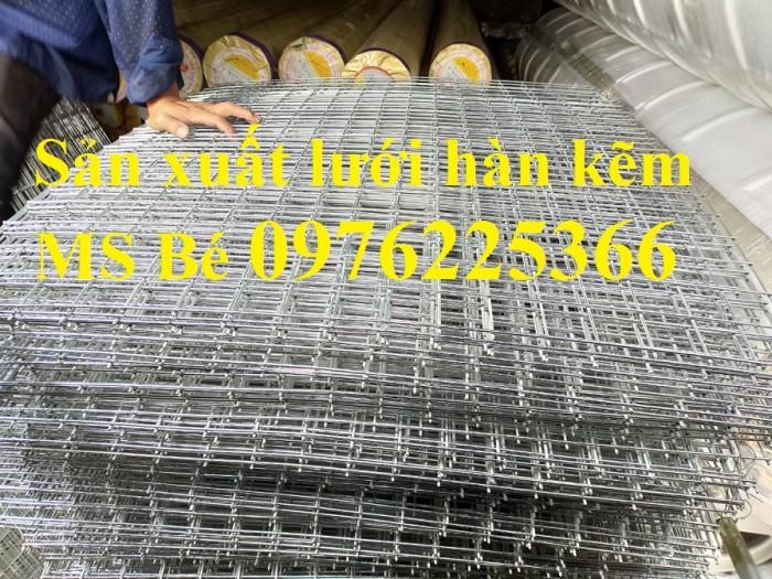 Lưới thép hàn mạ  kẽm D3a50x50 có sẵn giá rẻ5