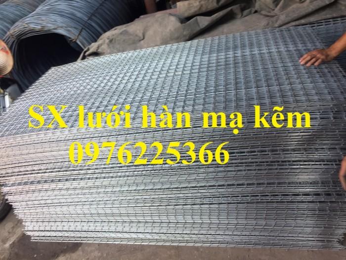 Lưới thép hàn mạ  kẽm D3a50x50 có sẵn giá rẻ6