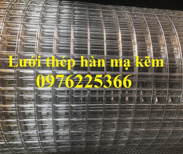 Lưới thép hàn mạ  kẽm D3a50x50 có sẵn giá rẻ7