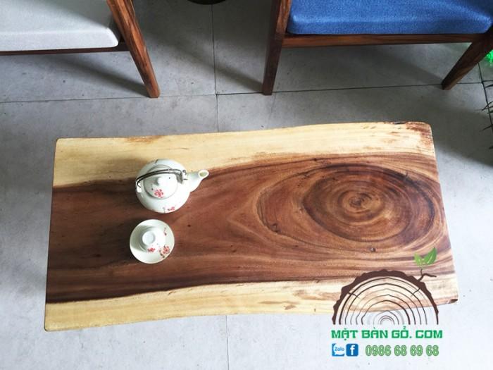 Bàn Sofa Gỗ Nguyên Tấm 45cm X 94cm