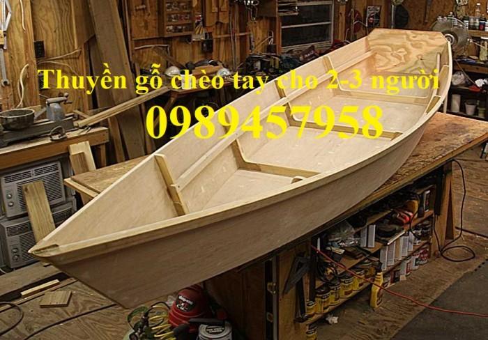 Thuyền gỗ chụp ảnh Studio, Thuyền tạo cảnh, Thuyền hái sen1