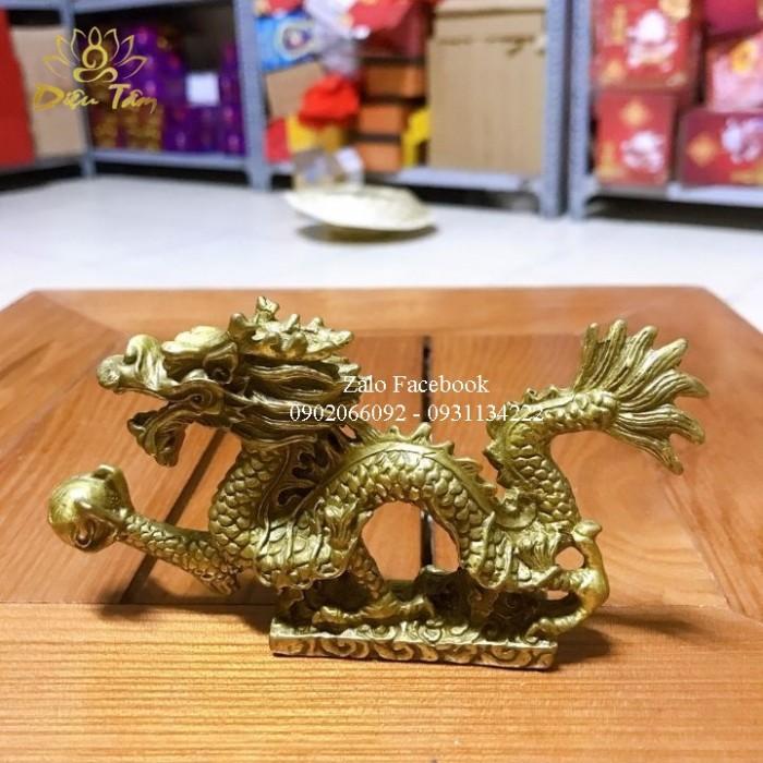 Tượng Rồng Đồng Phong Thuỷ1