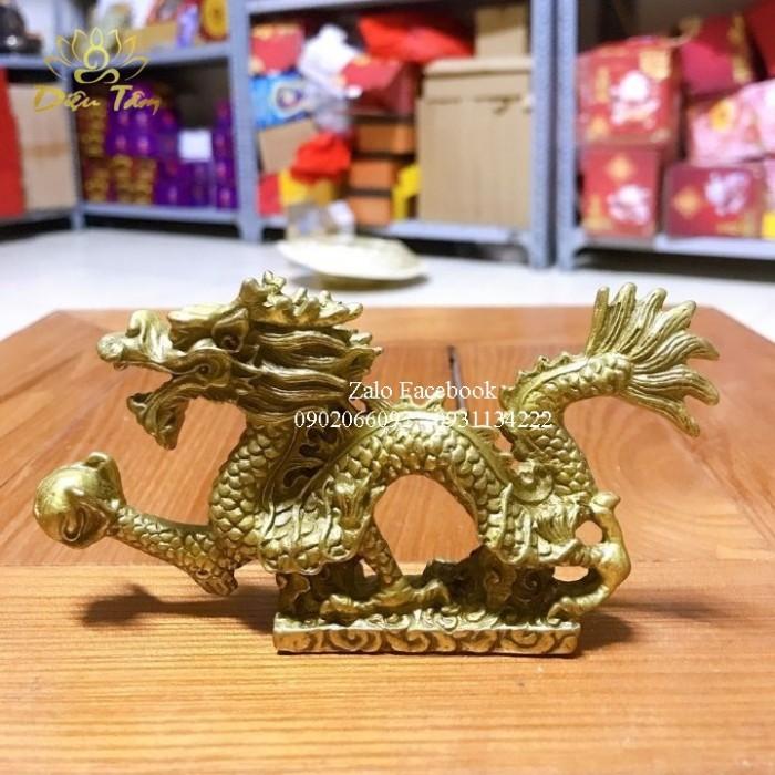 Tượng Rồng Đồng Phong Thuỷ4
