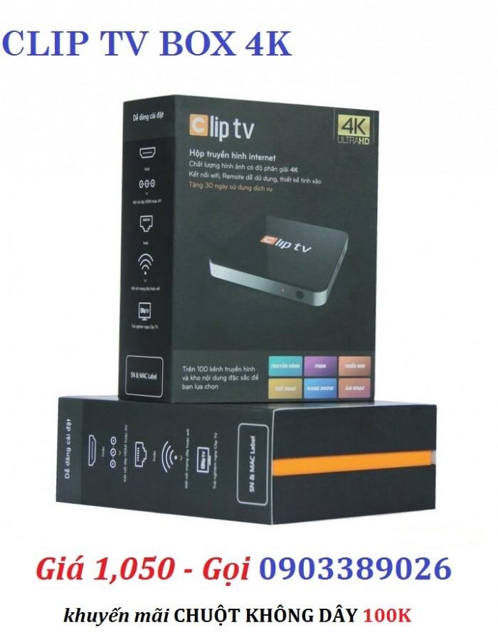 Android Clip TV Box - Hộp truyền hình internet. Clip TV Box