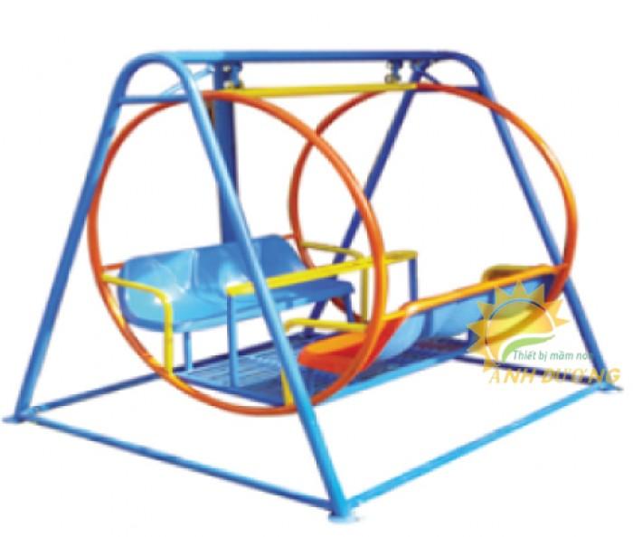 Chuyên sản xuất xích đu trẻ em cho trường mầm non, công viên, khu vui chơi1