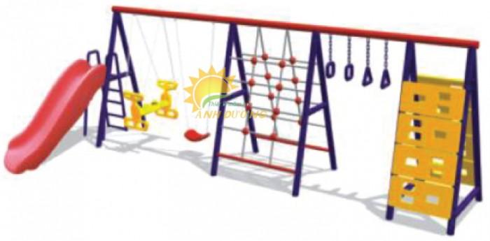 Chuyên sản xuất xích đu trẻ em cho trường mầm non, công viên, khu vui chơi0
