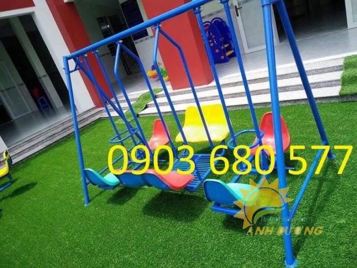 Chuyên sản xuất xích đu trẻ em cho trường mầm non, công viên, khu vui chơi4