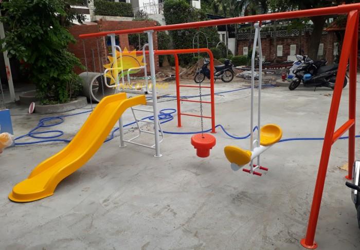 Chuyên sản xuất xích đu trẻ em cho trường mầm non, công viên, khu vui chơi11