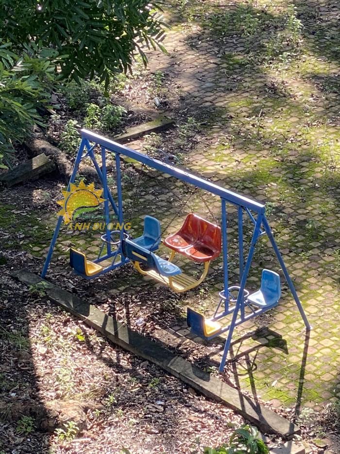 Chuyên sản xuất xích đu trẻ em cho trường mầm non, công viên, khu vui chơi15