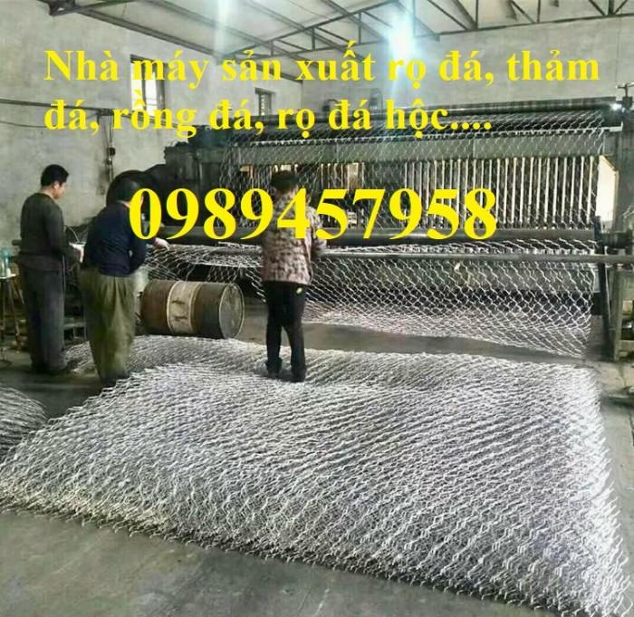 Phân phối rọ đá 2x1x1, rọ thép 2x1x0,5, Rọ đá bọc nhựa PVC1