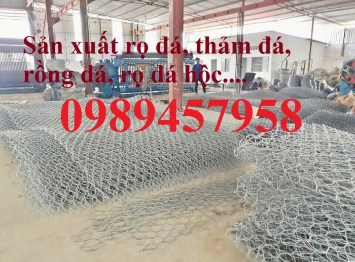 Phân phối rọ đá 2x1x1, rọ thép 2x1x0,5, Rọ đá bọc nhựa PVC3