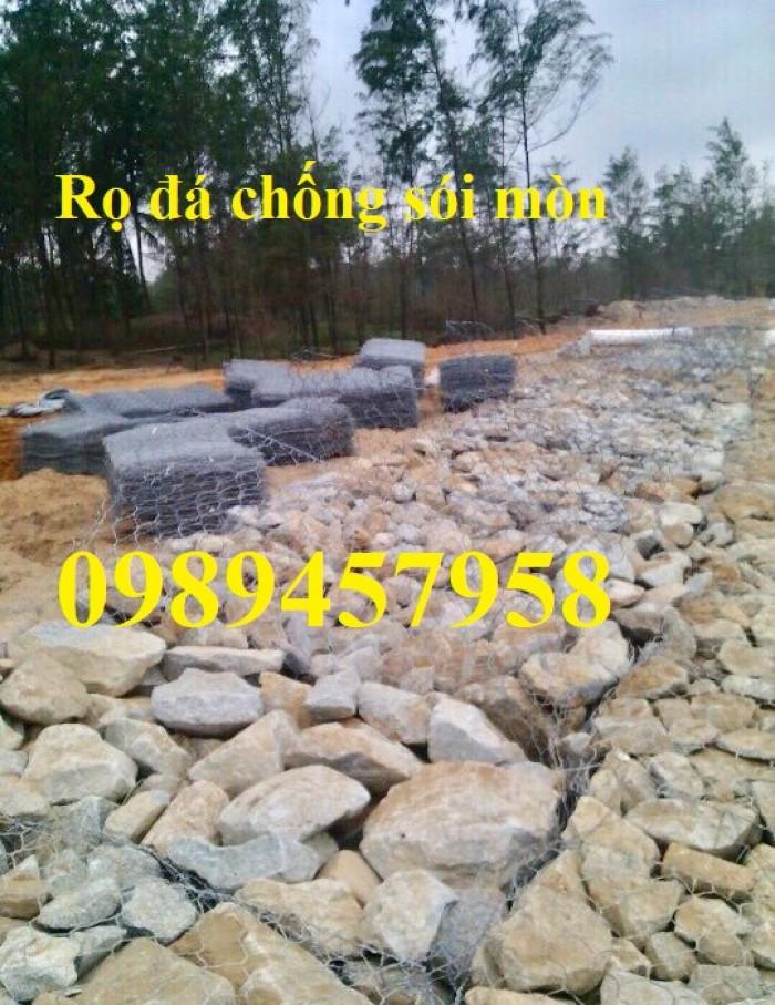 Phân phối rọ đá 2x1x1, rọ thép 2x1x0,5, Rọ đá bọc nhựa PVC4