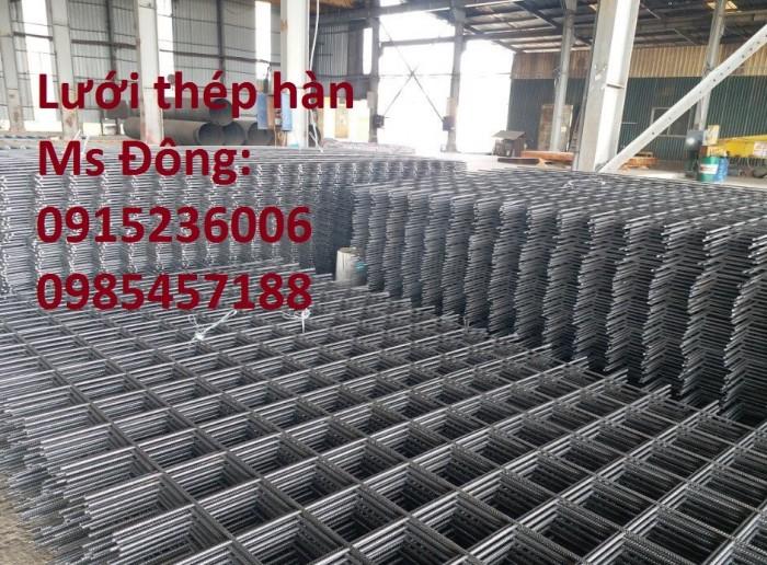 Lưới thép hàn, lưới thép hàn chập, lưới thép hàn ô vuông D3, D4, D51
