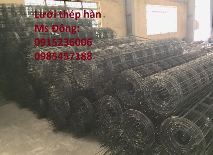 Lưới thép hàn, lưới thép hàn chập, lưới thép hàn ô vuông D3, D4, D52