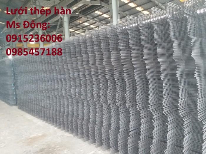 Lưới thép hàn, lưới thép hàn chập, lưới thép hàn ô vuông D3, D4, D53