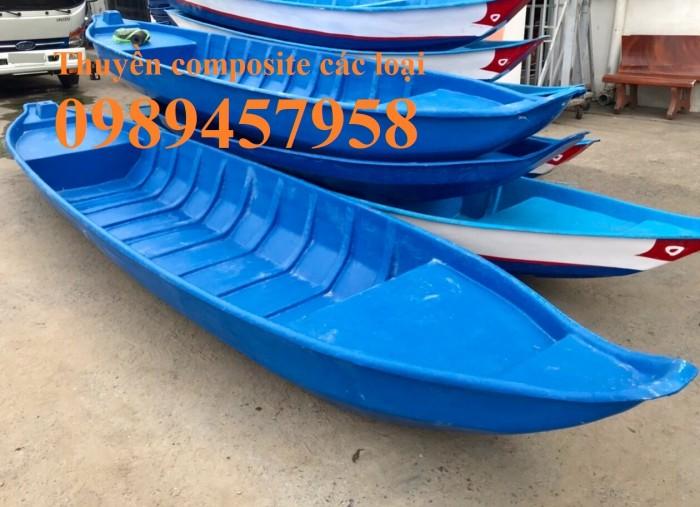 Thuyền nhựa câu cá chèo tay 3m, 4m, Thuyền chở 3-4 người2