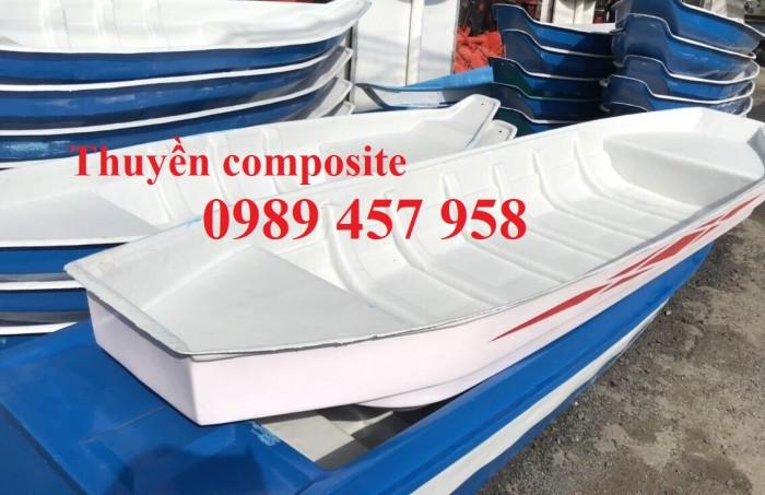 Thuyền nhựa câu cá chèo tay 3m, 4m, Thuyền chở 3-4 người4