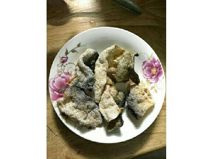 Da cá basa trứng muối sấy khô3
