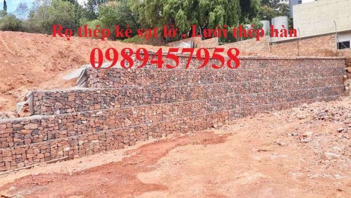 Lưới thép hàn làm rọ đá, Rọ đá trang trí, Lưới thép Rọ đá11
