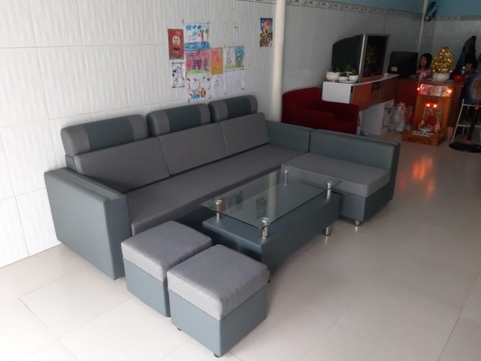 Ghế sofa tặng bàn1