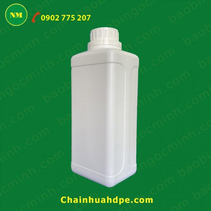Chai nhựa 1 lít ga hdpe5