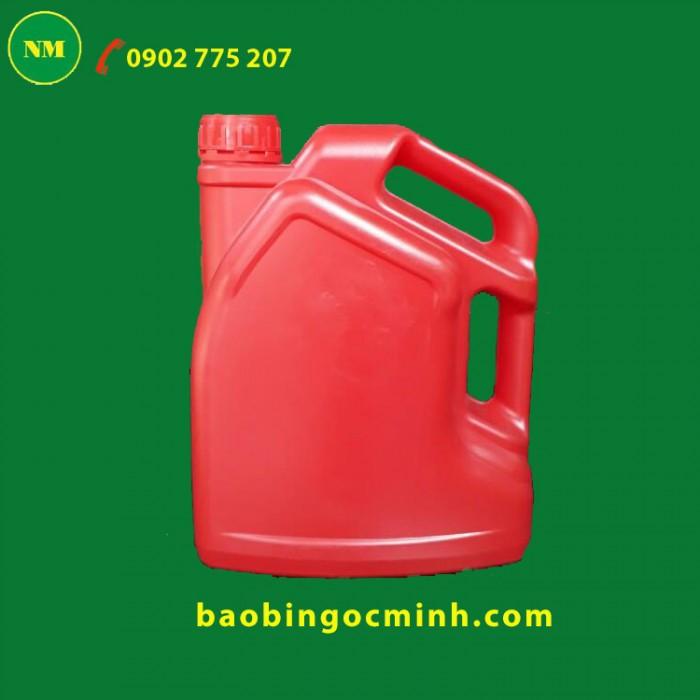 Can nhựa 5 lít 2 quai đựng hóa chất, cung cấp SLL giá rẻ0