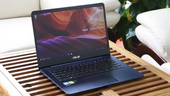 Laptop Asus Zenbook UX430UA/ i5 7200U/ 8G/ SSD256G/ Full HD/ Viền Mỏng/ Win 10