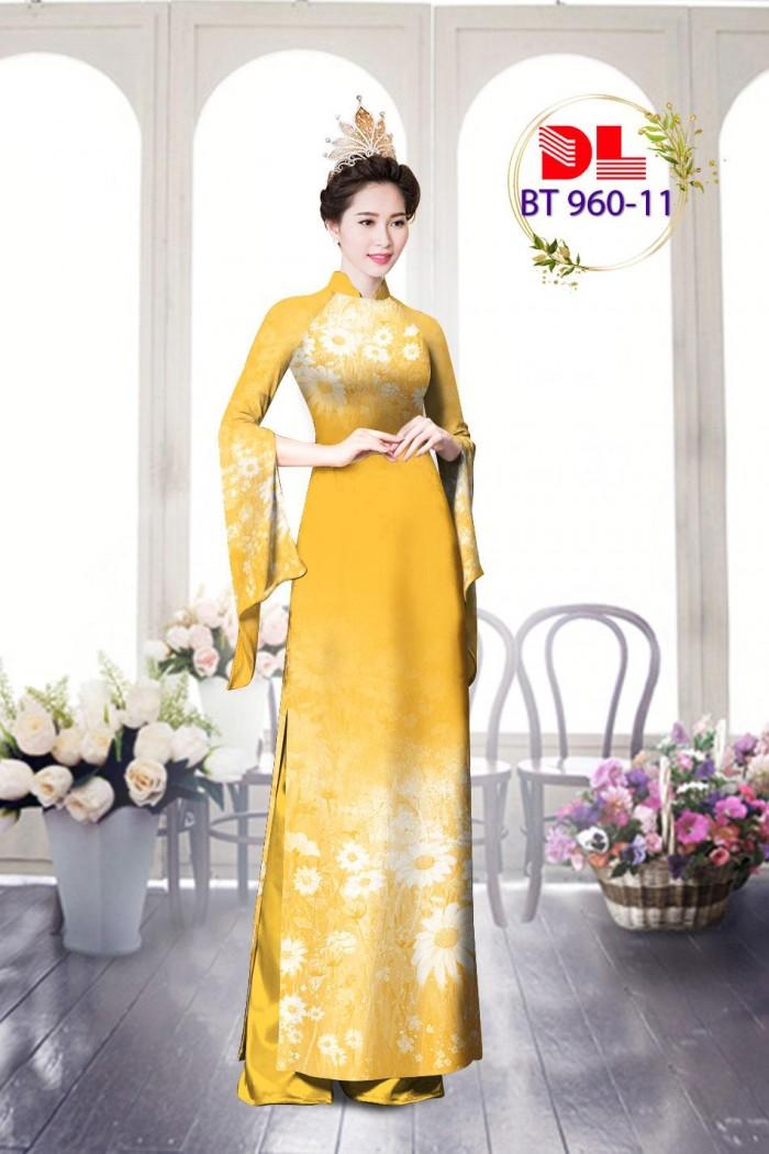 Vải áo dài lụa ngọc mai cao cấp BT 9602