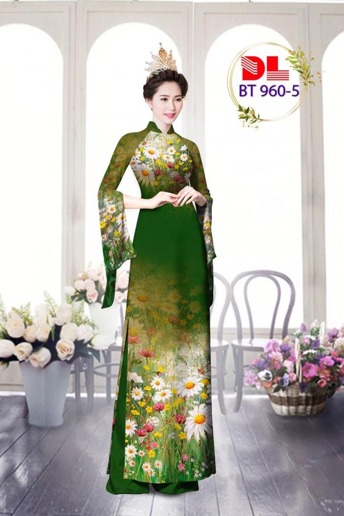 Vải áo dài lụa ngọc mai cao cấp BT 9603