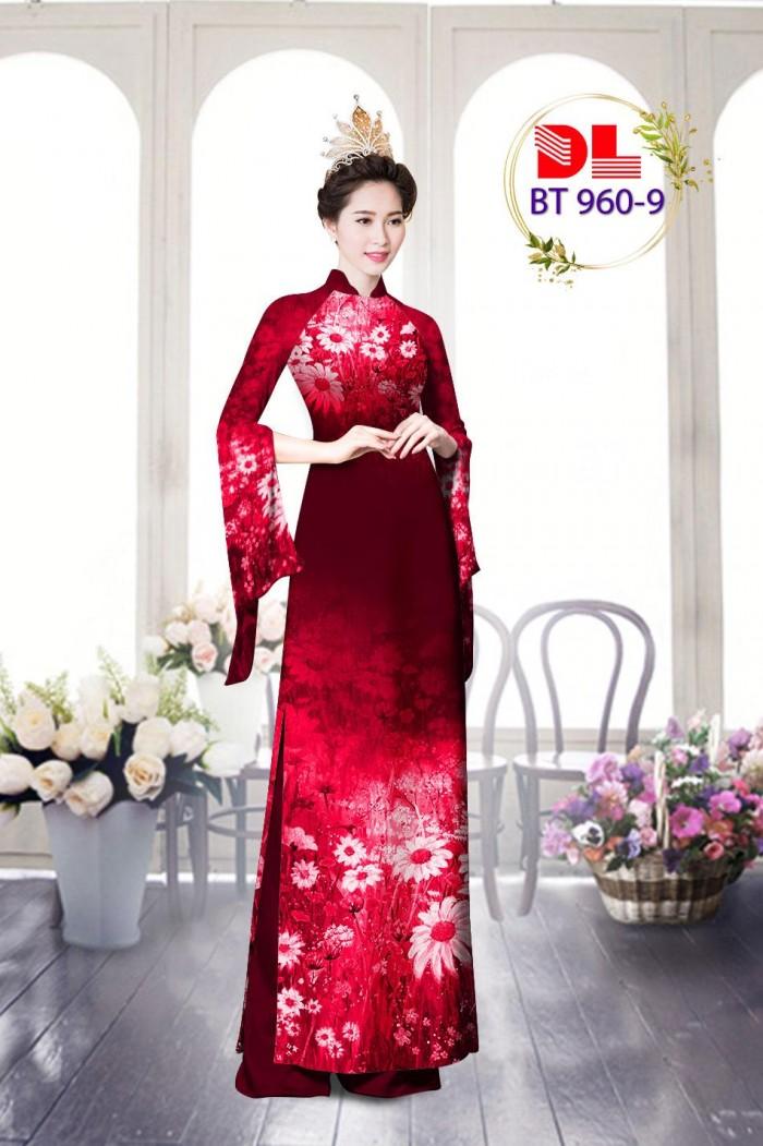 Vải áo dài lụa ngọc mai cao cấp BT 9605