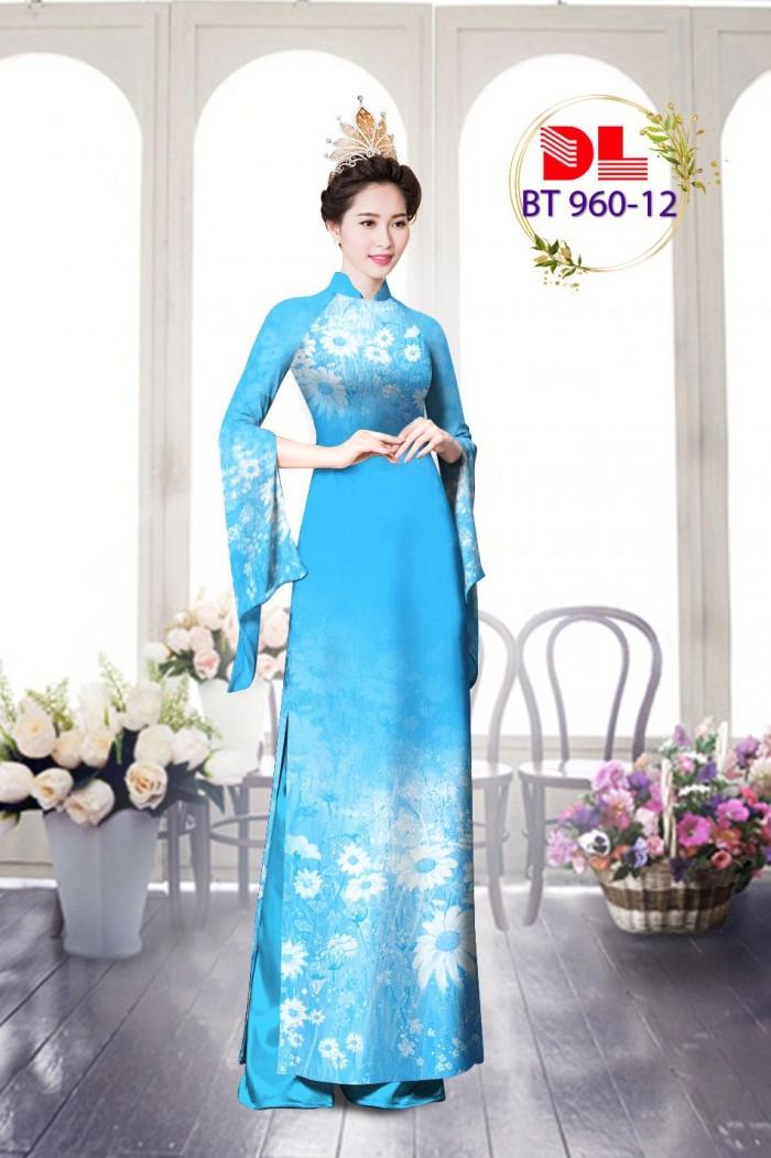 Vải áo dài lụa ngọc mai cao cấp BT 9607