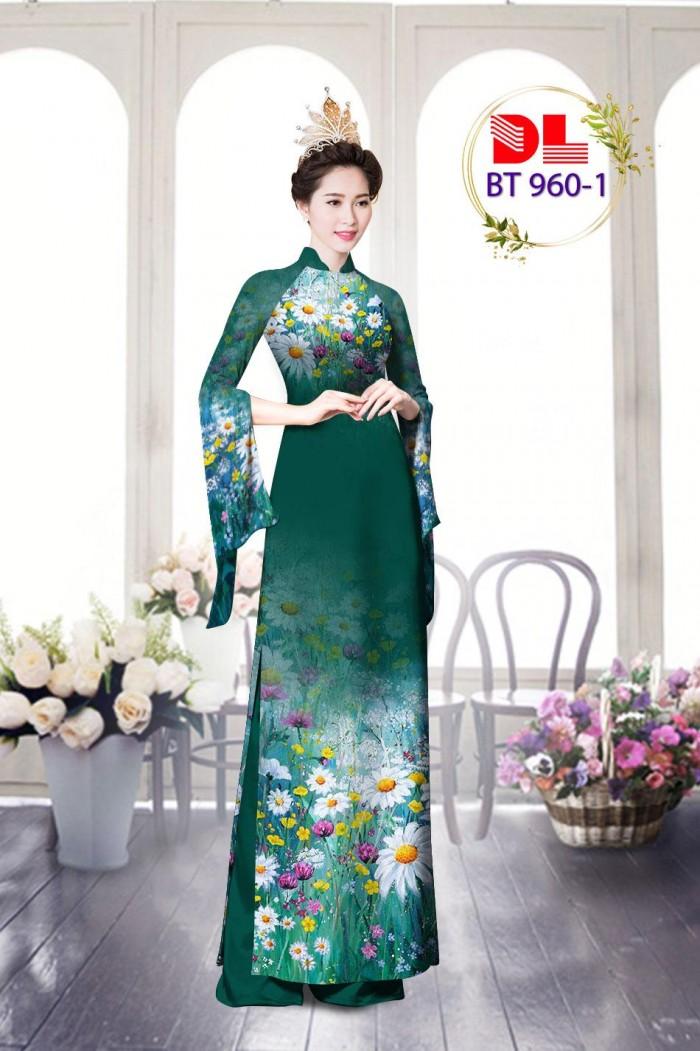 Vải áo dài lụa ngọc mai cao cấp BT 9606