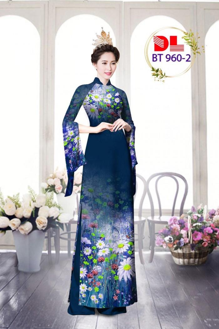 Vải áo dài lụa ngọc mai cao cấp BT 960