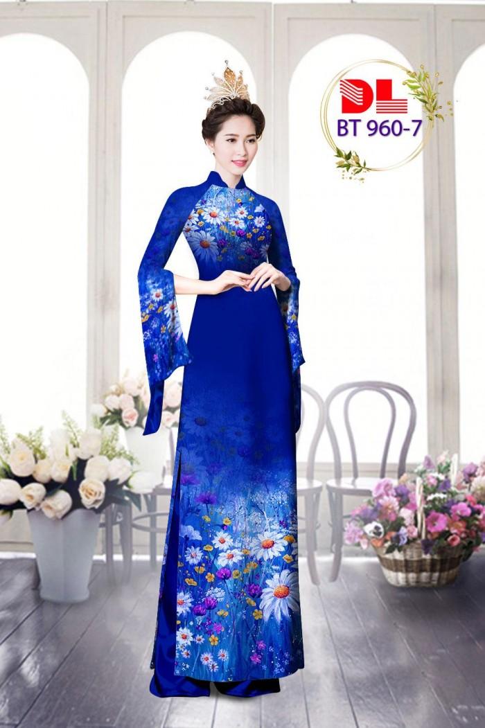 Vải áo dài lụa ngọc mai cao cấp BT 9608