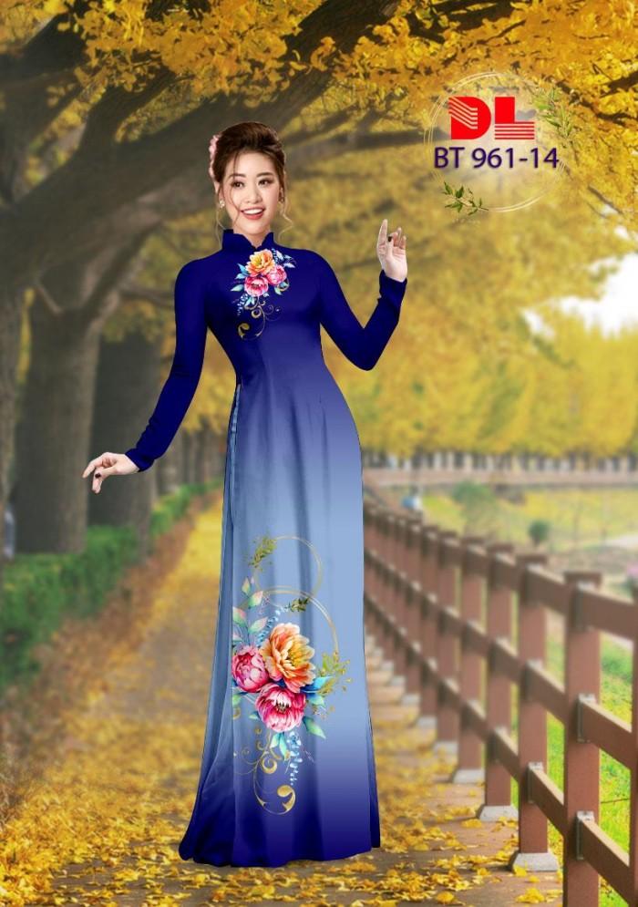 Vải áo dài lụa ngọc mai cao cấp BT 96111