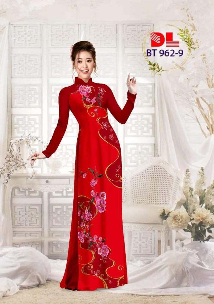 Vải áo dài lụa ngọc mai cao cấp BT 9623