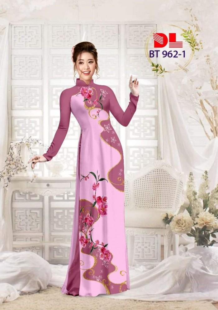 Vải áo dài lụa ngọc mai cao cấp BT 9622