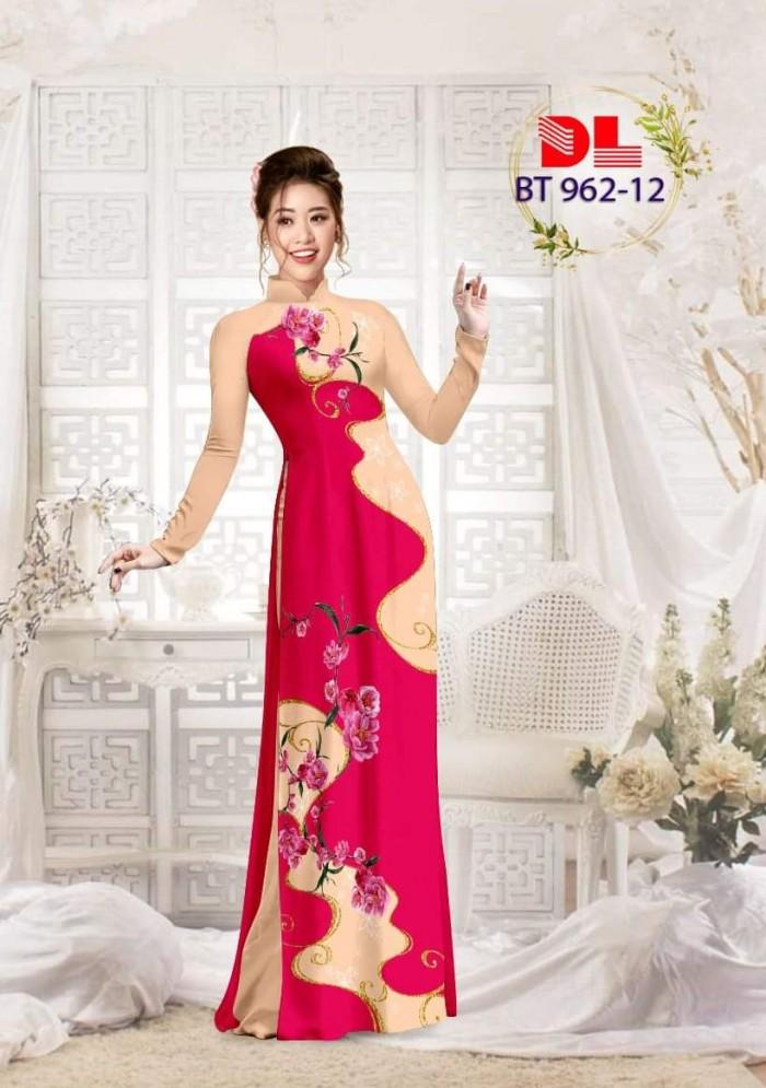 Vải áo dài lụa ngọc mai cao cấp BT 9625