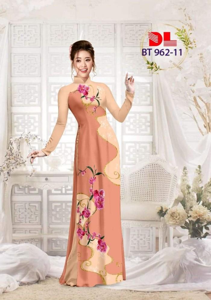 Vải áo dài lụa ngọc mai cao cấp BT 9627