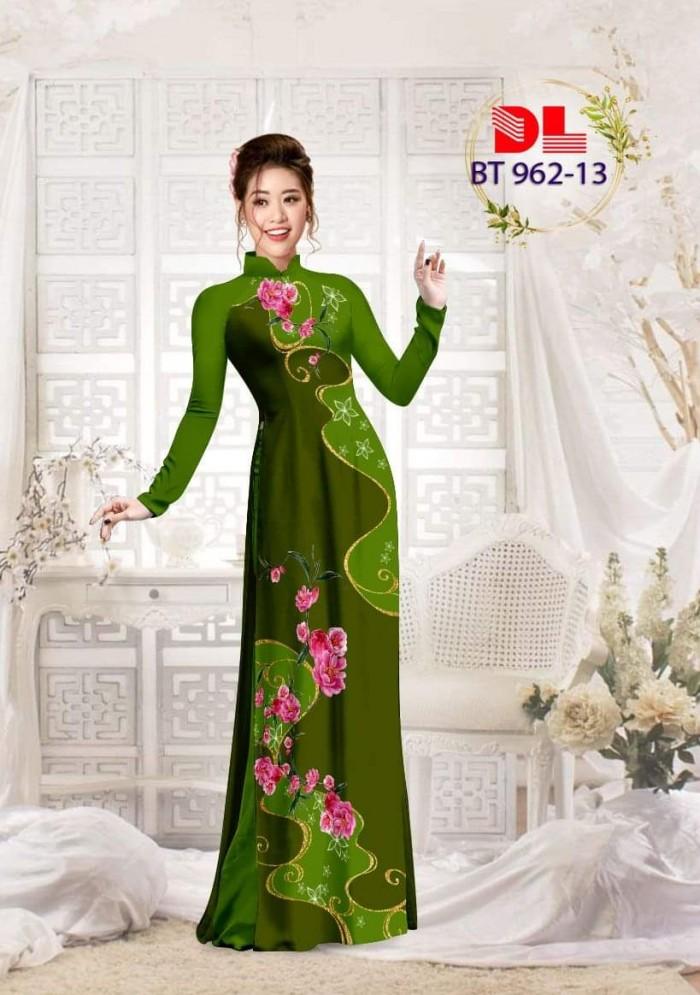 Vải áo dài lụa ngọc mai cao cấp BT 9626